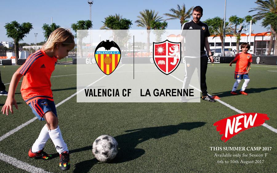 Valencia C.F. at La Garenne Camps!