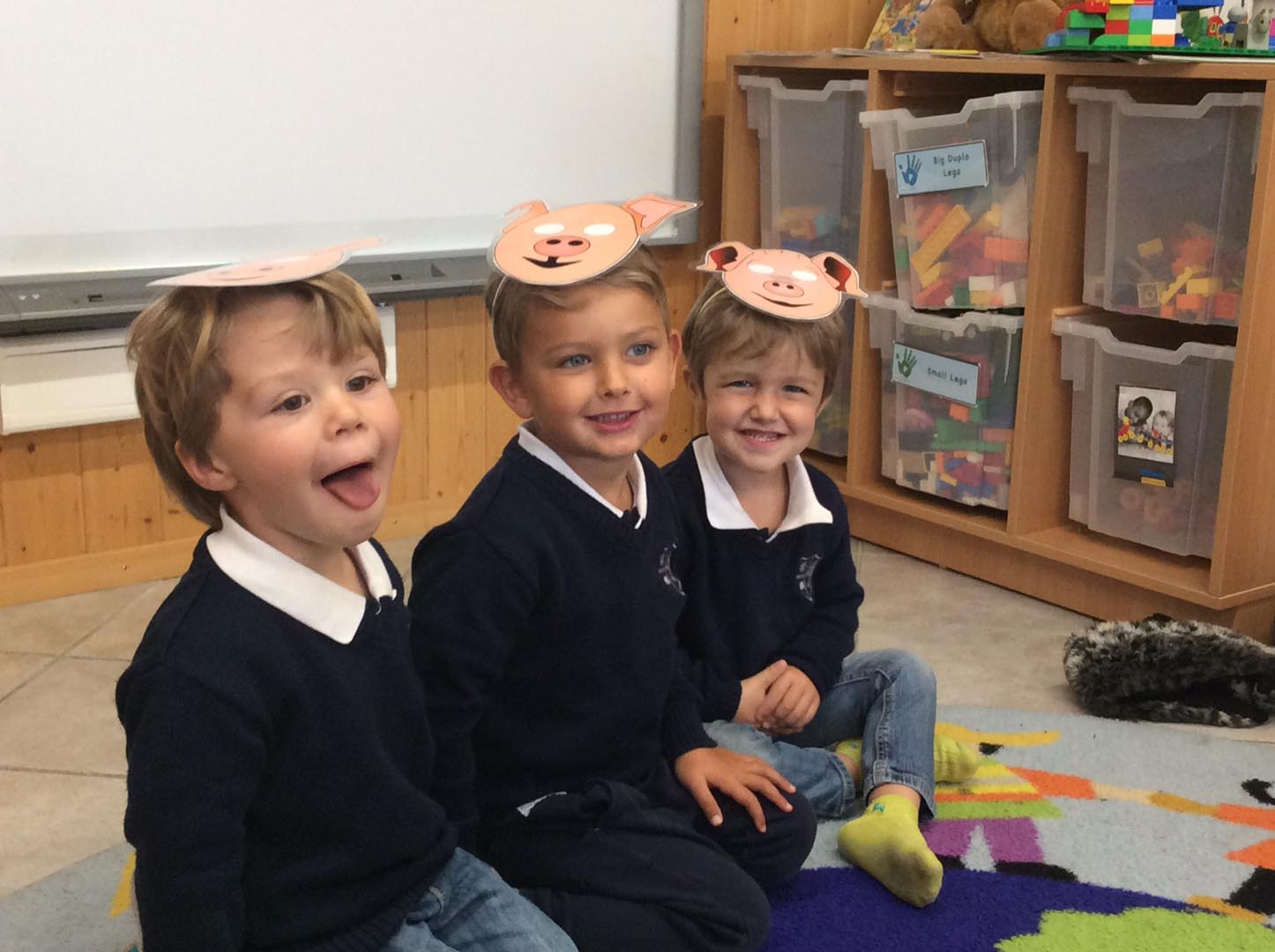 Exploring the story of 'The Three Little Pigs'